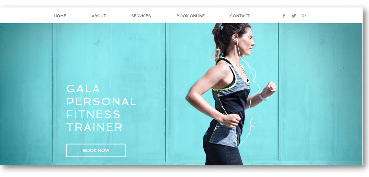 Personal Trainer Marketing Wix