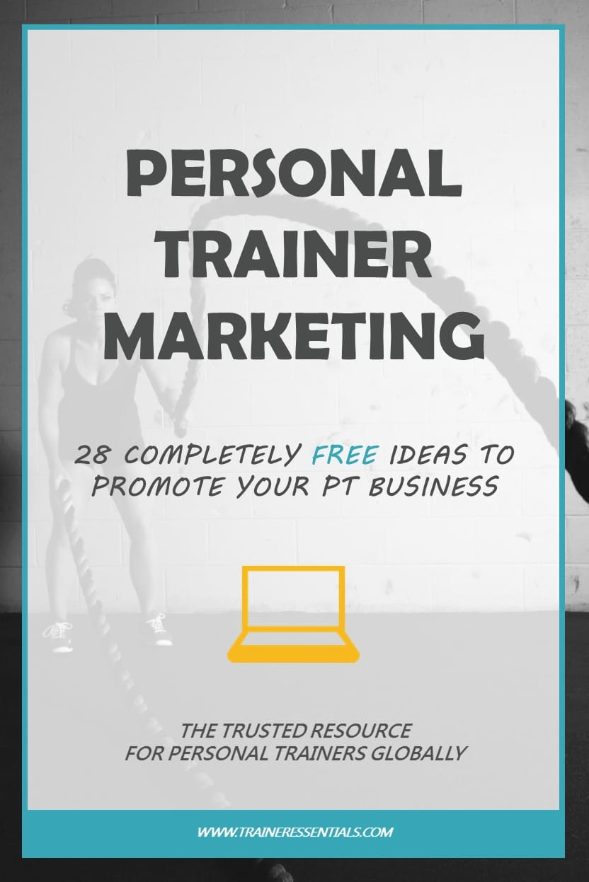 Personal Trainer Marketing Ideas Pinterest
