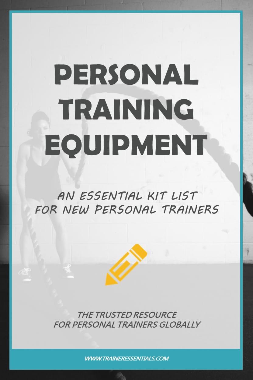 Personal Training Equipment Pinterest