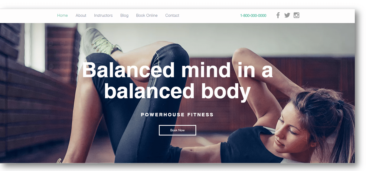 personal trainer website design 10 professional templates for pts