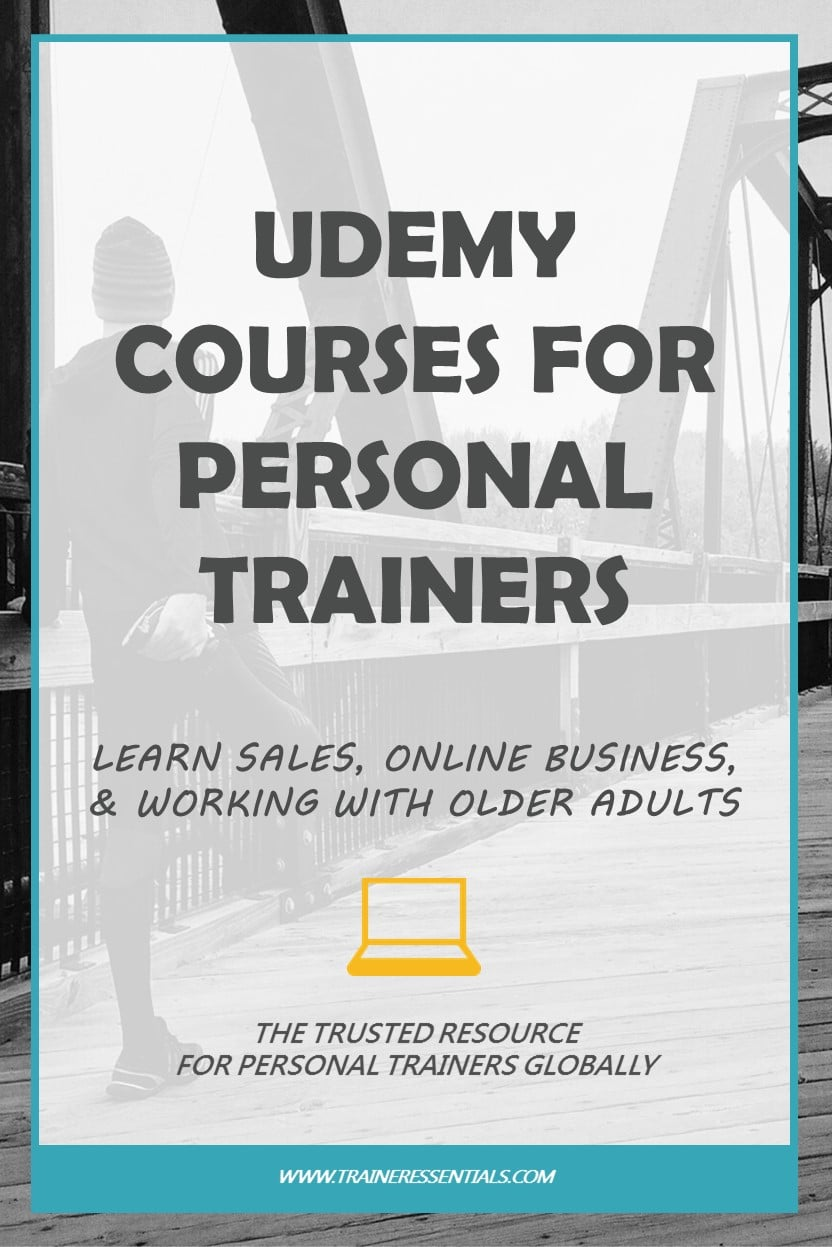 Personal Trainer Training Udemy Courses Pinterest