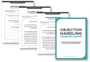 Personal Training Sales Script Ebook