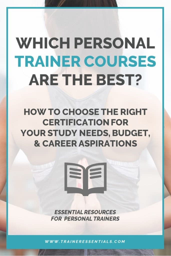 Best Personal Trainer Certification Pinterest