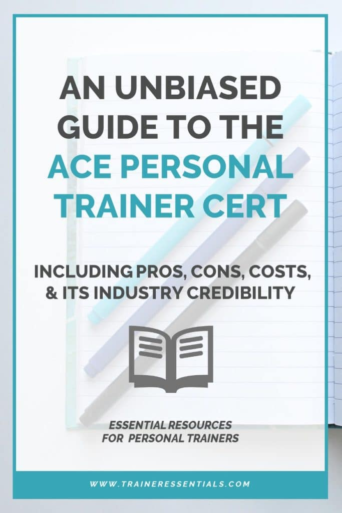 Ace Certification An Unbiased Guide To Ace Personal Trainer Courses