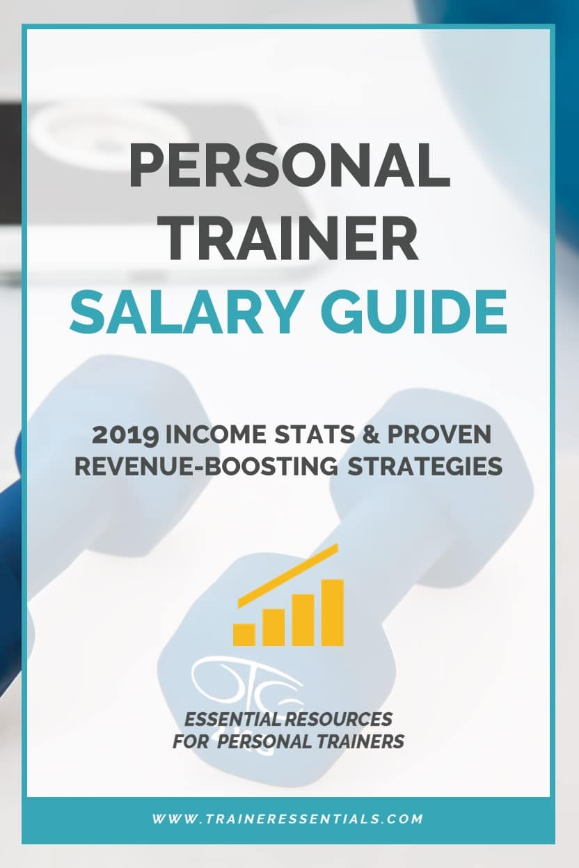 Personal Trainer Salary Guide Pinterest