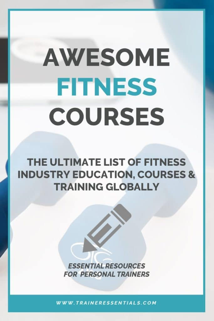 Fitness Industry Education Pinterest
