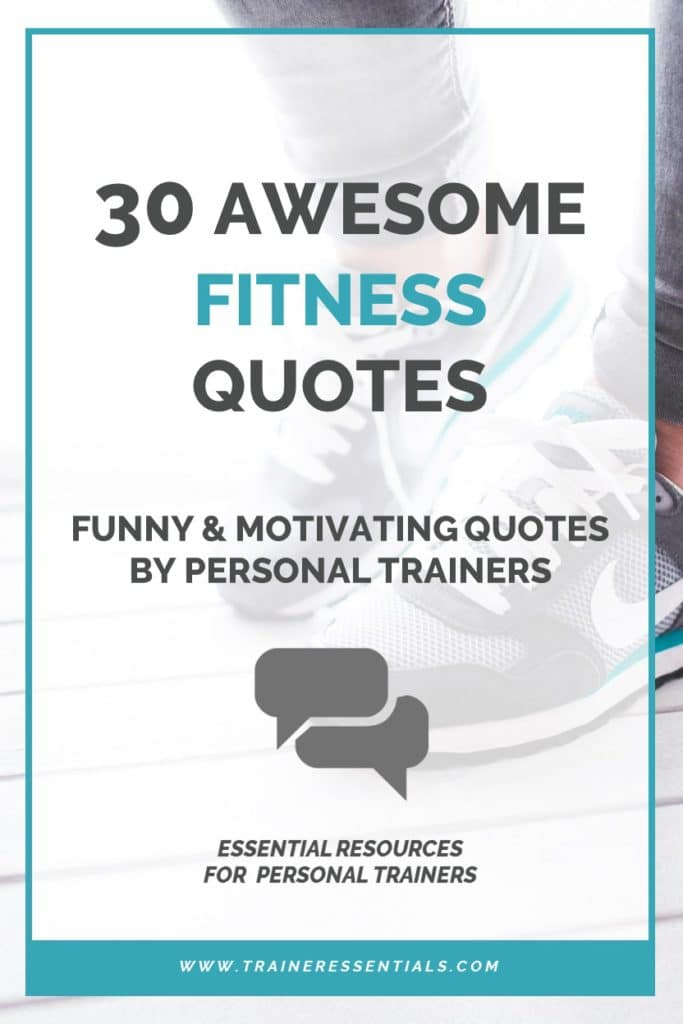 Personal Trainer Quotes Pinterest