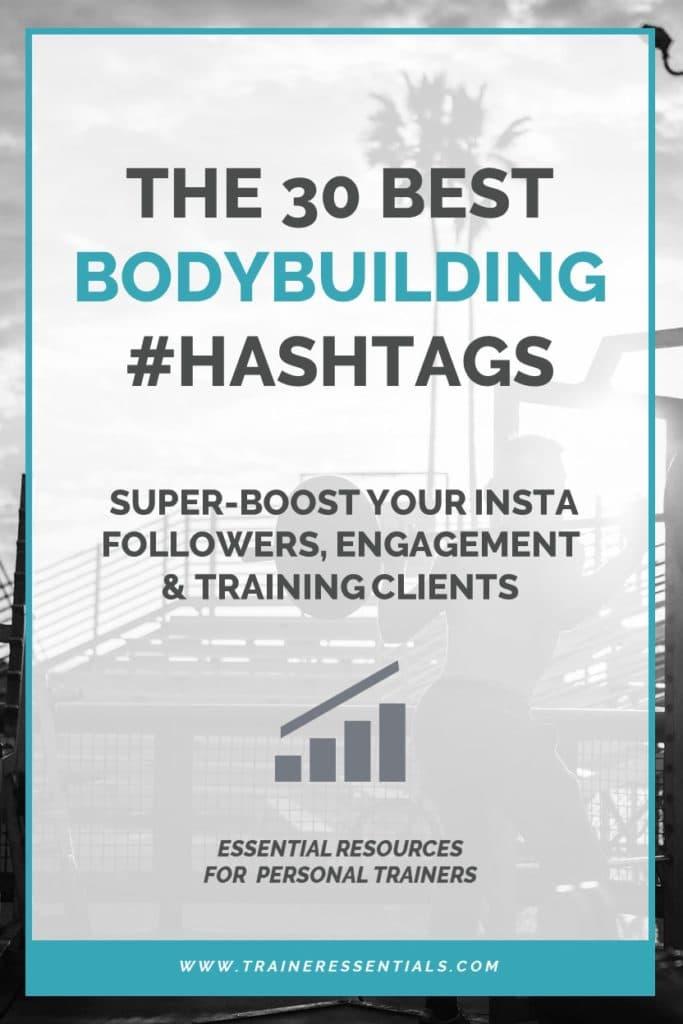 Top Bodybuilding Hashtags Pinterest