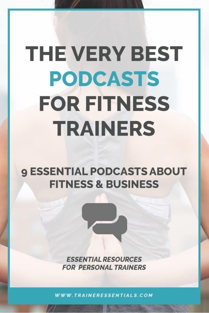Personal Trainer Podcast Pinterest
