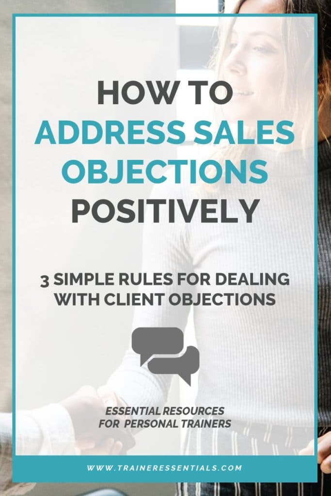 Sales Objection Handling Tips Pinterest
