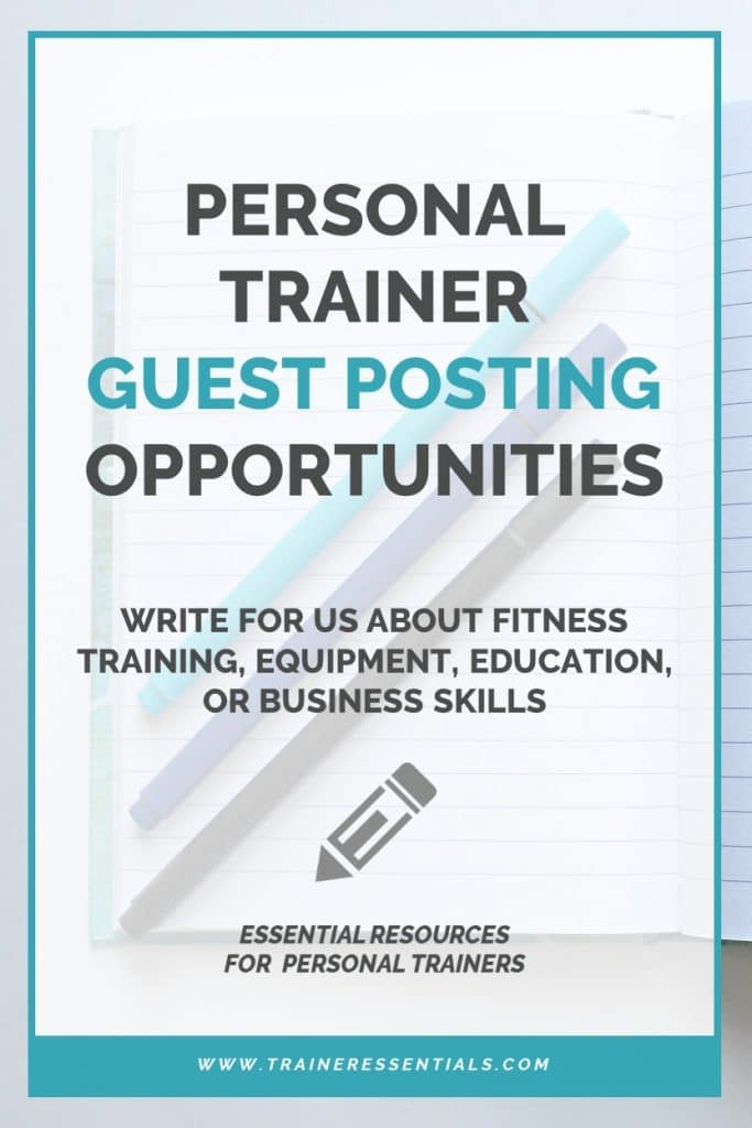 Personal Trainer Guest Post Pinterest
