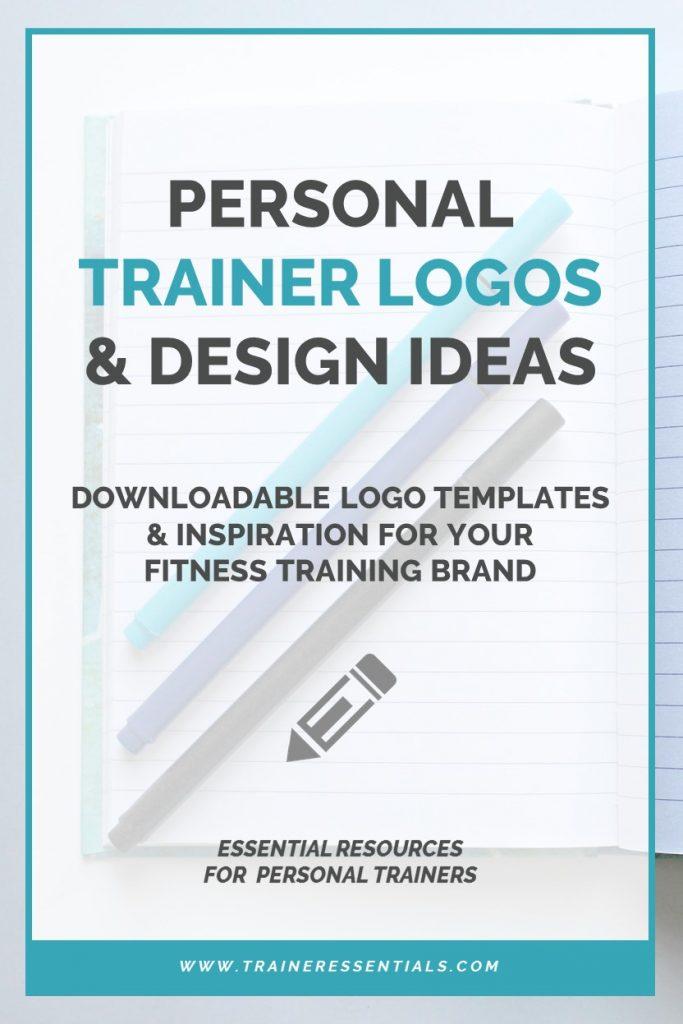 Fitness Trainer Logo Templates Pinterest