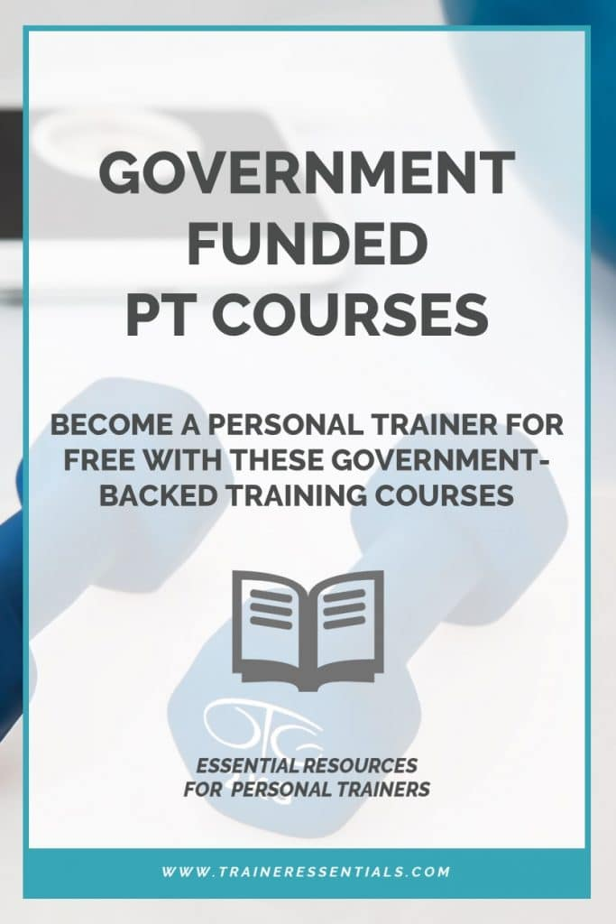 Government Funded Personal Trainer Courses Pinterest