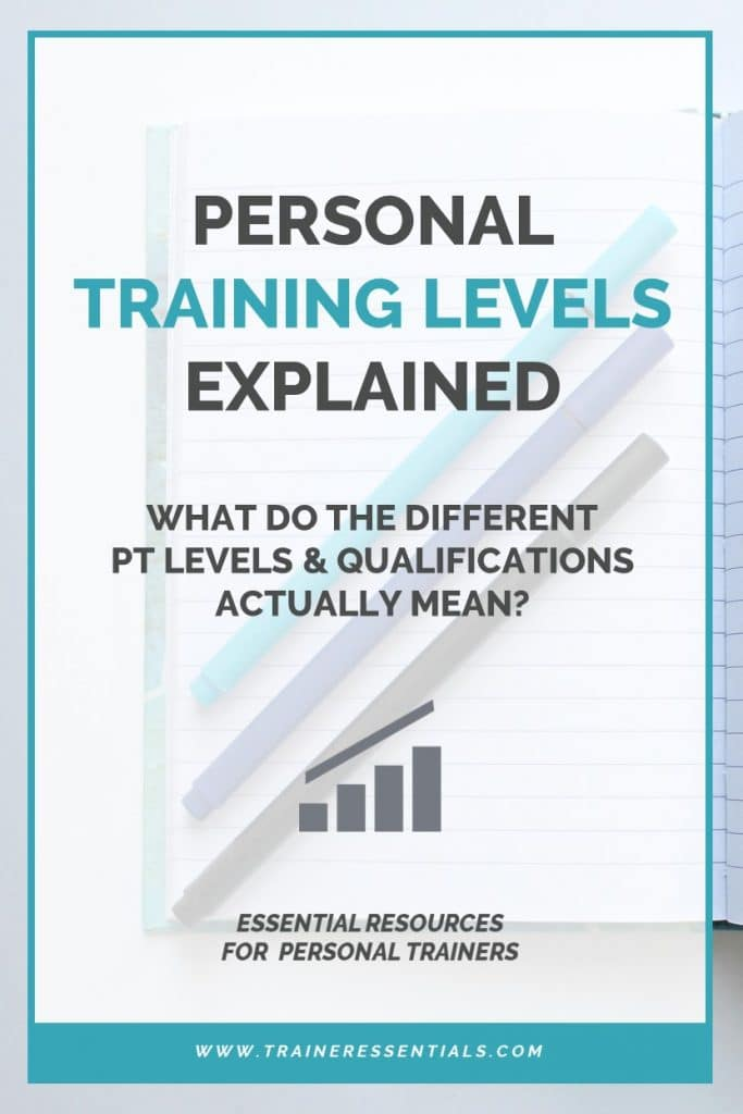 Personal Training Levels 3-4 Explained