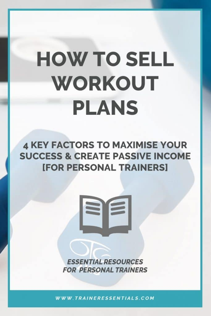 How To Sell Workout Plans