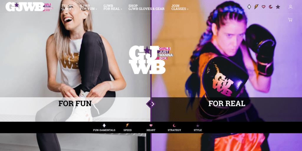 Girls Just Wanna Box Website