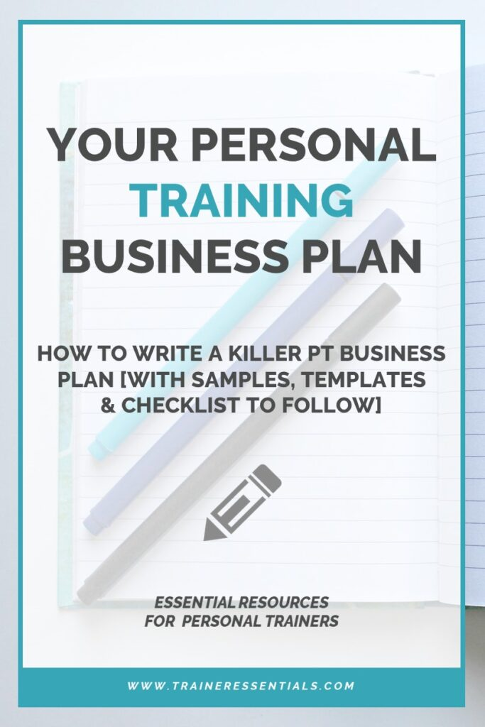 Personal Training Business Plan Examples Templates